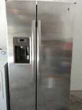 GE Side By Side Stainless Steel Refrigerator  GSS25GSHSS