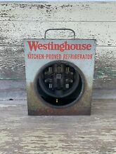 Antique Westinghouse Kitchen Proved Refrigerator Power Box
