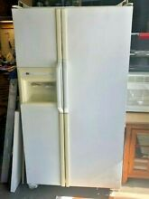 Amana side by side refrigerator  EXCELLET shape