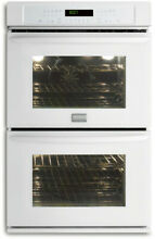 Frigidaire Gallery White 27  Double Convection Wall Oven FGET2765KW