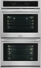 Frigidaire Gallery 30  Stainless Steel Double Convection Wall Oven FGET3065PF