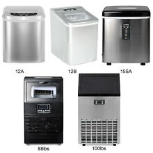 Portable Countertop Ice Maker Build in Commercial Ice Machine Ice Cube Machine