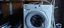 WHIRLPOOL WFC7500VW 2 0 cu  ft  Front Load Washer in White