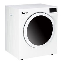 ZOKOP Electric Tumble Laundry Dryer Stainless Tub 13 2 lbs  3 5 Cu Ft
