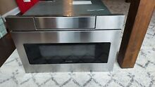 Sharp SMD2470AS Drawer Microwave PARTS ONLY Needs electrical repair