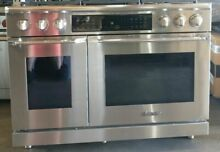 Dacor HDPR48S NG 48  Dual Fuel Range Professional Stainless Steel Sealed Burner