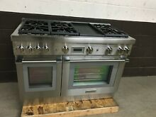 Thermador PRG486WDH 48  All Gas Range PRO Harmony 6 Burners Griddle Stainless 3
