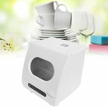 Portable Countertop Dishwasher Smart Dish Washing For Apartment Dorm Campers RVs