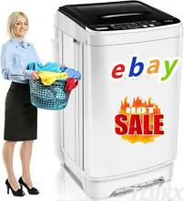 8KG Portable Mini Twin Tub Compact Washing Machine Washer Spin Dryer 8 Levels_