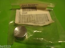 GENUINE FRIGIDAIRE OEM PUSH BUTTON KNOB 3201220 FOR WASHER DRYER COMBO  NEW