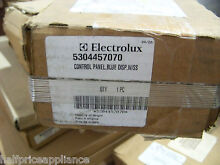 Electrolux Frigidaire 5304457070 Stainless Microwave Control Panel