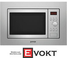 Gorenje BM171D3X Built In Microwave Oven Stainless Steel 17L 700W Genuine NEW