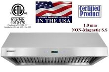 XtremeAir PX11 42  Under Cabinet Kitchen Range Hood 900 CFM LED Lights PX11 U42