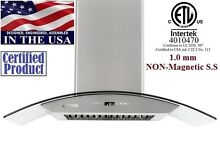 XtremeAir PX01 36  900CFM Wall Mount Kitchen Range Hood Stainless Steel PX01 W36
