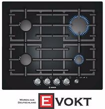 Bosch Serie 6 PPP616M91E Built In Gas Hob 4 Burners Black Cooktop Genuine NEW