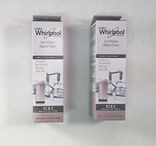 2 X Whirlpool Ice Maker Water Filter   F2WC9I1 ICE2