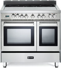 36  Verona VEFSEE365DSS Electric Double Oven Pro Range Stainless Steel