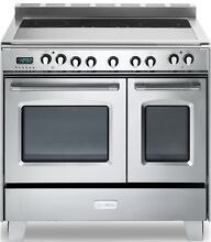 36  Verona Classic Electric Stainless Steel Double Oven Pro Range