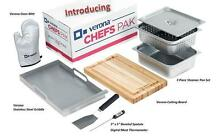 Verona 8 Piece Accessory Kit Chefs Pak w  Stainless Steel Griddle