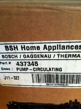 Bosch Dishwasher Circulating Pump 437345 Genuine OEM