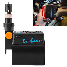 Portable  Car Mini Fridge Conductor cooling Beverage Cans Cooler Refrigerator