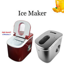 New Automatic Ice Cube Maker Countertop Fast Water Easy Freezer Portable Machine