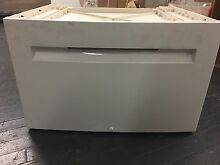 Bosch WMZ20500 Axxis Dryer Laundry Pedestal with Storage Drawer W  missing parts