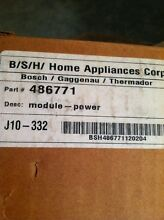Bosch Thermador Range Or Cooktop Power Module  spark Module  486771