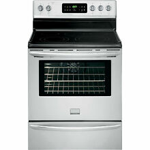 Frigidaire Gallery FGEF3032MF Electric Convection Range  30  Freestanding Stainl