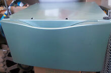 WASHING MACHINE PEDESTAL W  Storage Drawer LIGHT GREEN