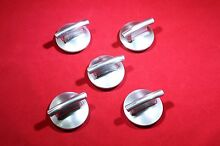 5 x Maytag JENN AIR COOKTOP KNOB 74010205 WP74010205 PS2087581