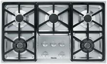 Miele 36  Stainless Gas Cooktop   KM3474G