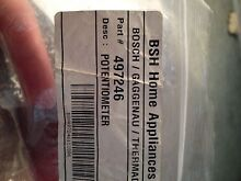 Thermador Cooktop Or Range Potentiometer 497246