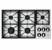 DACOR RENAISSANCE 36  STAINLESS STEEL GAS COOKTOP RGC365 LP