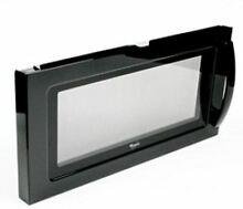 W10247770 Whirlpool Microwave Door Assembly Black