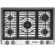 Dacor Distinctive DCT305S NG 30 Inch Gas Cooktop Stainless
