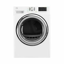 Kenmore 7 4 cu  ft  Gas Dryer with Steam in White  includes delivery and hookup