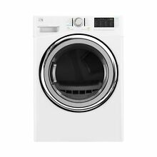 Kenmore 7 4 cu  ft  Electric Dryer with Steam in White  includes delivery and ho