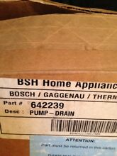 Bosch Dishwasher Drain Pump 642239