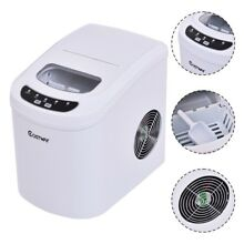 Portable Home Electric Compact Ice Maker Machine Counter Top Mini Cube US Nice