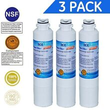 IcePure  3 Pack  Water Filter To Replace Samsung Kenmore Comparable with DA29