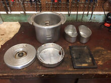 VINTAGE MAYTAG DUTCH OVEN STEAMER KETTLE and other parts
