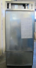 Sub Zero 36  Built In Model 650 O  Custom Panel Right Hinge Refrigerator Freezer