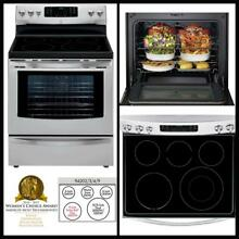 Kenmore 5 7cu ft  Stainless Steel Ceramic Glass Cooktop SelfClean Electric Range