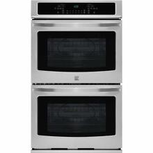 KENMORE 30  STAINLESS STEEL ELECT SELF CLEAN DOUBLE OVEN    45  OFF  2 299 LIST
