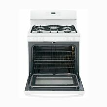 GE Appliances JGB640DEFWW 30 Inch Freestanding Gas Range with Sealed Cooktop