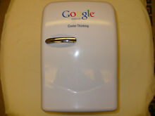 Google Mini Refrigerator Cooler Memorabilia Genuine Portable 20L   working