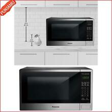 Panasonic 1 3 cu ft  Stainless Countertop Genius Cooking Sensor Microwave Oven