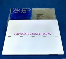 NEW GENUINE OEM GE WR17X2871 REFRIGERATOR FREEZER DOOR DISPENSER RECESS COVER