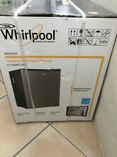 2 7 cubic foot Mini Whirlpool refrigerator new in box